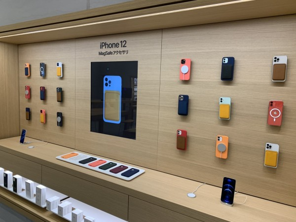 Apple Store Omotesando's new Magsafe Avenue
