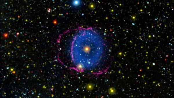 NASA: Blue Ring Mystery