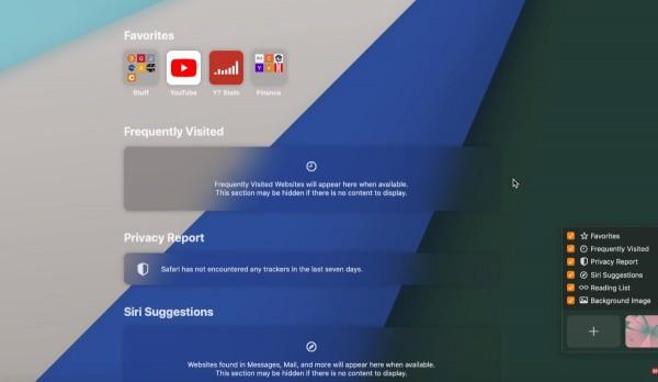 Safari's Privacy Report