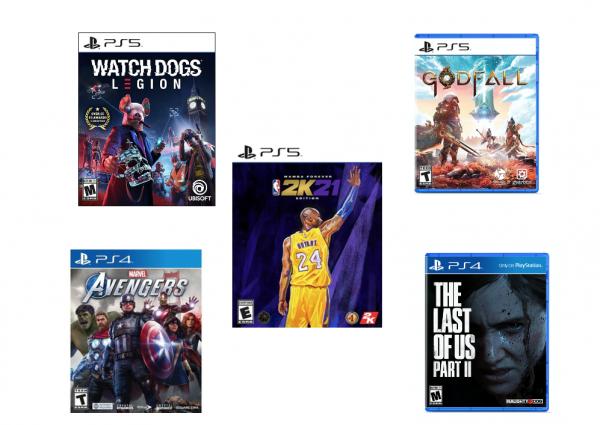 PS5 Games Black Friday