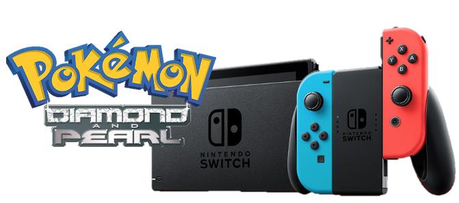 Nintendo Switch Pokemon Diamond and Pearl