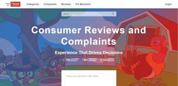 PissedConsumer.Com Explains Why You Can Rely on Negative Reviews