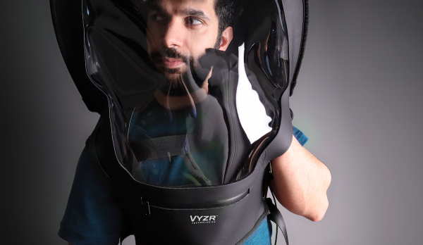 The BioVyzr COVID-19 helmet promises complete protection against the coronavirus