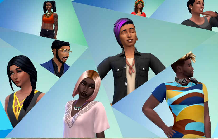 The Sims 4 Update: How to Use New 100 Skin Tones and Customize Them