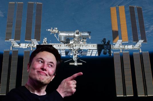 Elon Musk ISS