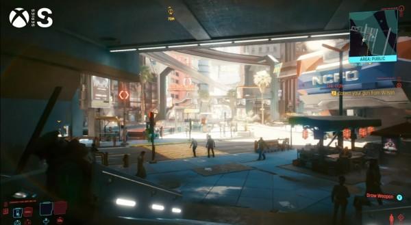 Cyberpunk 2077 Xbox Series X Performance vs Xbox One