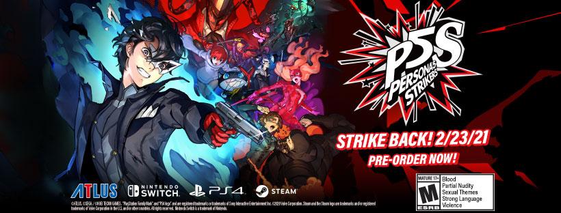 Persona 5 Strikers Steam Denuvo DRM