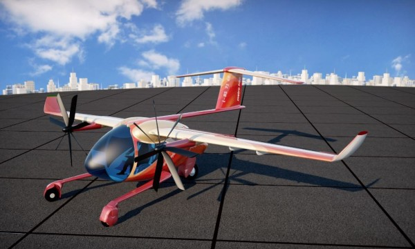 A New Electric Plane Receives A Very Peculiar Feature! It Can Take Off From A 25 Meter Runway!