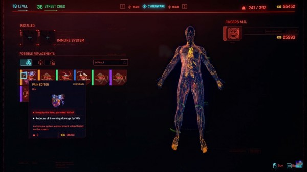Cyberpunk 2077 Pain Editor Cyberware: Where to Find and How to get It?