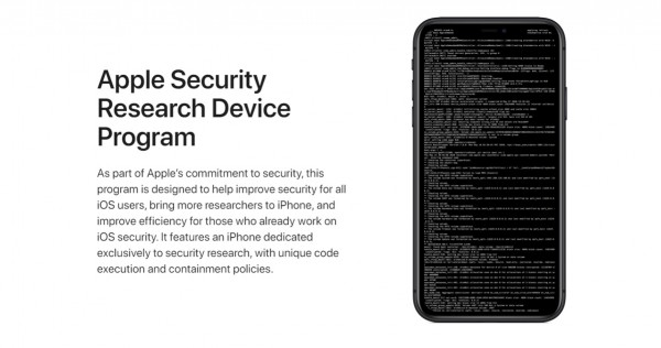 Researchers Under Apple's Security Research Device Program Will Soon Receive Their 'Rooted' iPhones