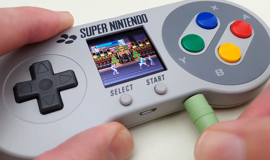 New Console Alert: The Raspberry Pi SNES Controller That Has Its Own Screen! Why Isn't It for Sale?