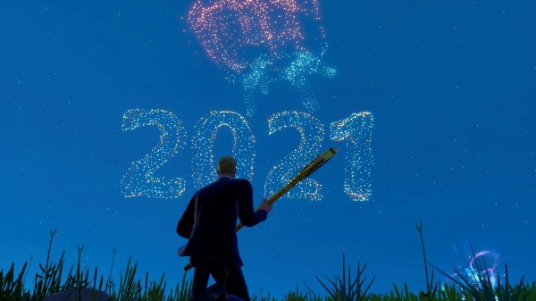 Fortnite New Year's Eve event 2021