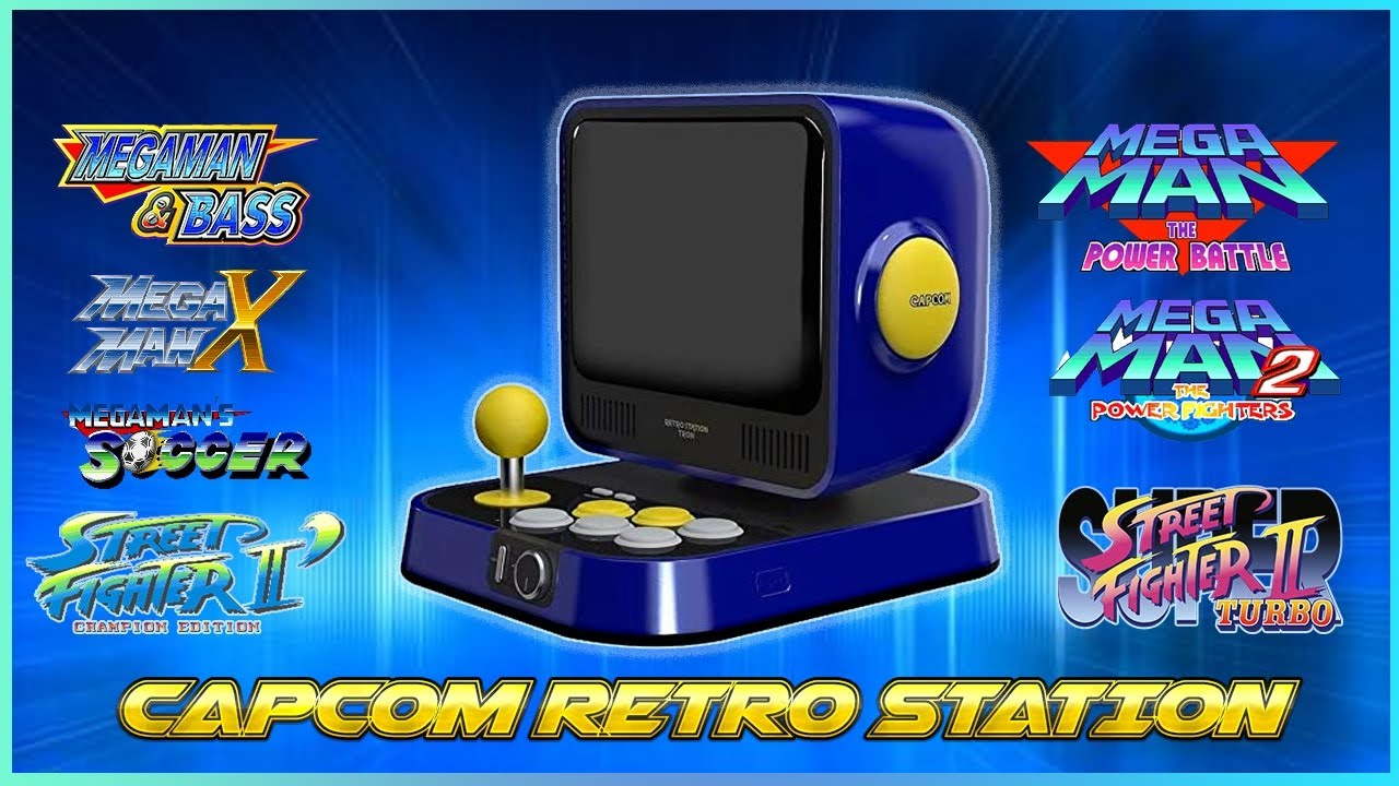 Capcom Retro Station is Coming up soon with these preinstalled games (full list)