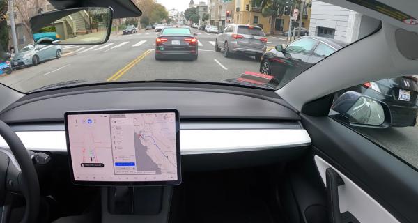 Tesla FSD SF to LA Trip