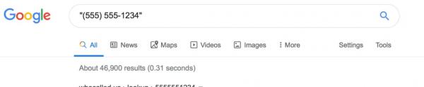 Alternative Search Engine