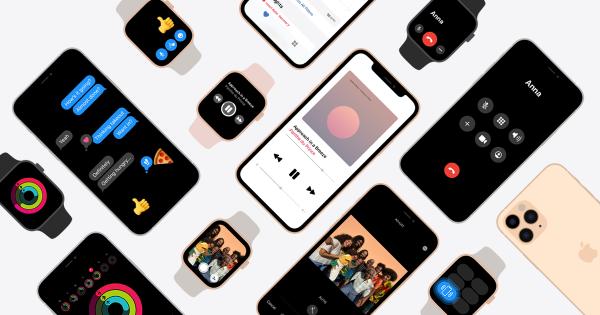 Apple Watch и iPhone