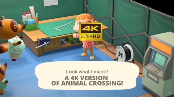 'Animal Crossing: New Horizons' 4k trailer