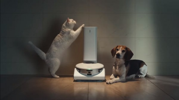 Samsung JetBot 90 AI+: A LiDAR-Equipped Robot that Works as Vacuum Cleaner, Security Monitor, Pet Feeder