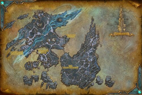 The Maw Map