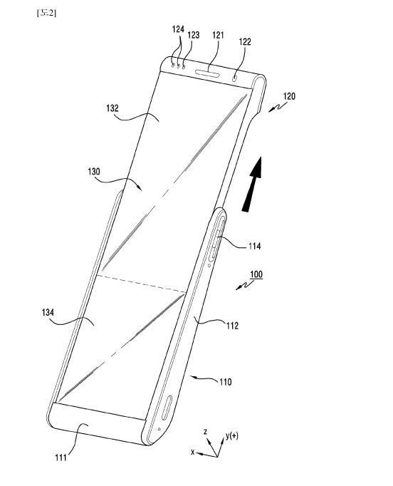 Samsung Galaxy Roll Concept Patent