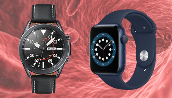 Apple Watch, Samsung Galaxy Watch Blood Sugar