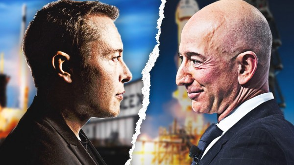 Richest Men in the World, Musk and Bezos Fight Over Satellite Real Estate