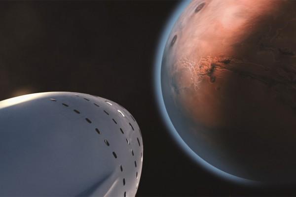 Mars'a kombine roket uçuşu