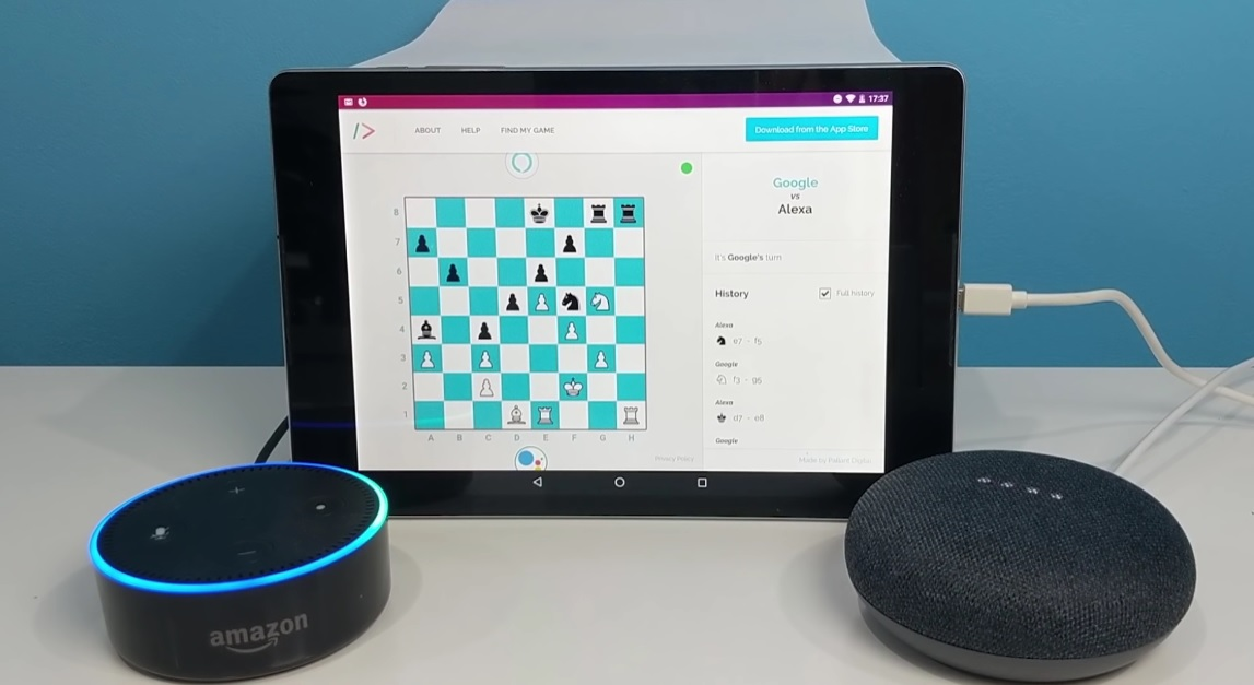 Amazon's Alexa vs Google Assistant Chess Match: Who Won, and Some Pointers to Consider