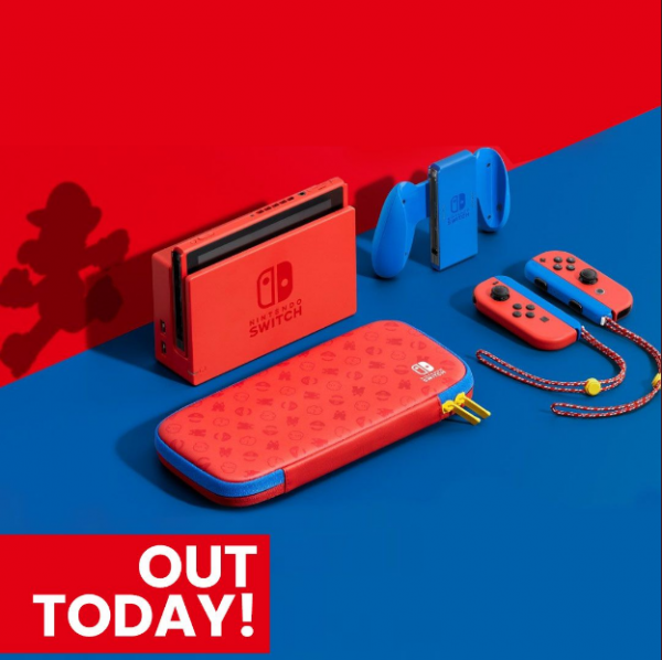 Want to Buy the Latest Super Mario Blue & Red Switch Console? Here's Where You Can Buy It