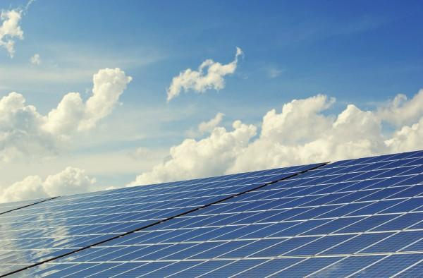 Sahara desert solar panel farm global warming climate change