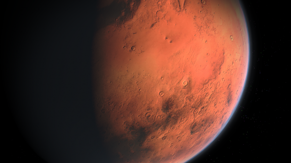 Video and sound of Mars landing on the red planet