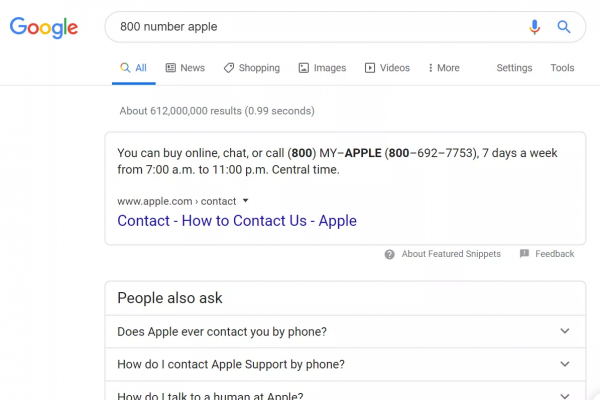 Check Phone Number by Google Search