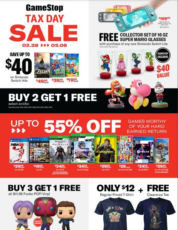 GameStop Tax Day Discount (1)