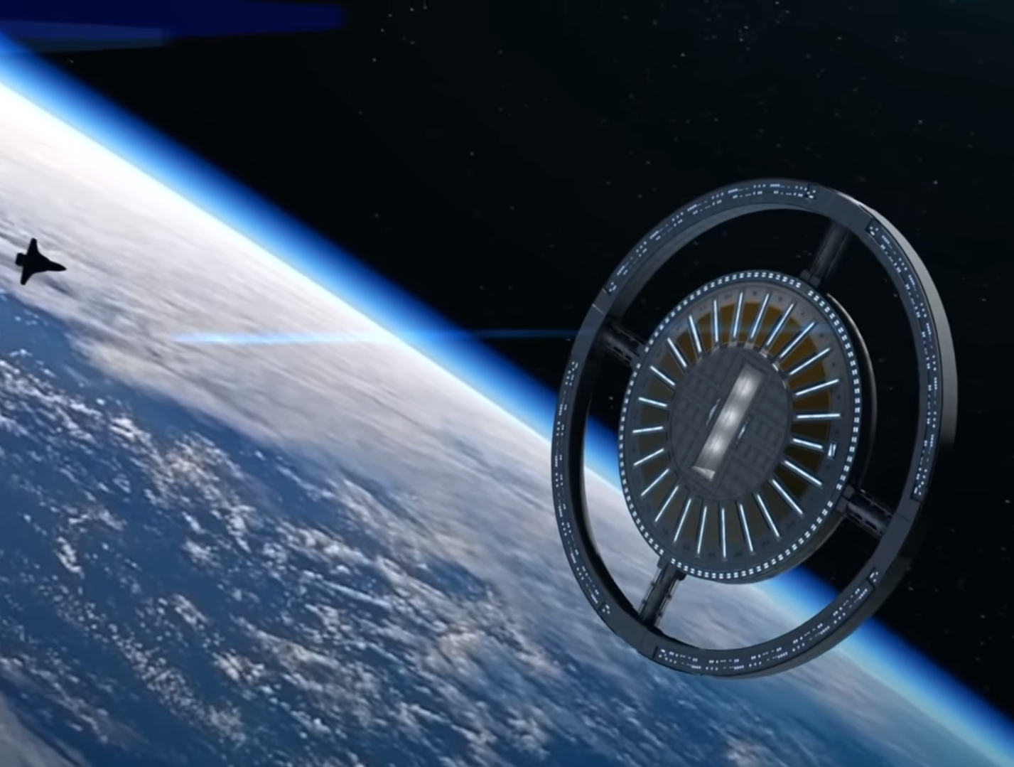 First-Ever Space Hotel Is Set to Begin Construction Until 2025: Open for 300 Guests