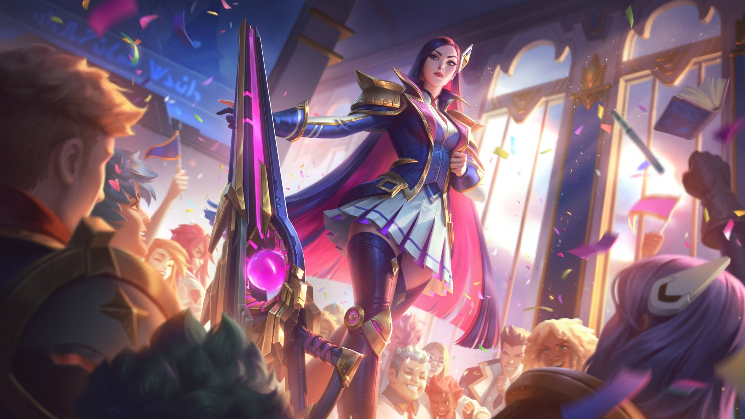 'League of Legends' New Skins: Battle Academia 2021 First ...