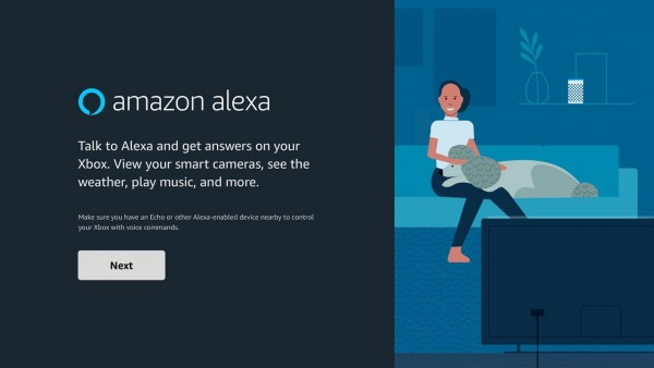 Amazon Alexa Just Pops Out from Nowhere in Xbox
