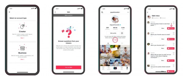 TikTok Adds Q&A Feature Available Today