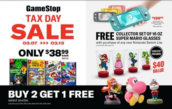 GameStop Tax Day Sale, Second Week