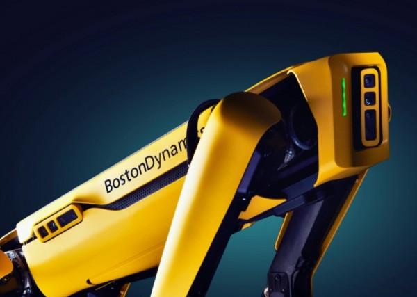 The Next Big Technology Robot Dog Employees at Alberna Shell Refinery
