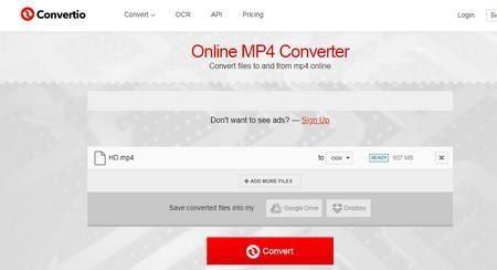 Convertio mp4 converter