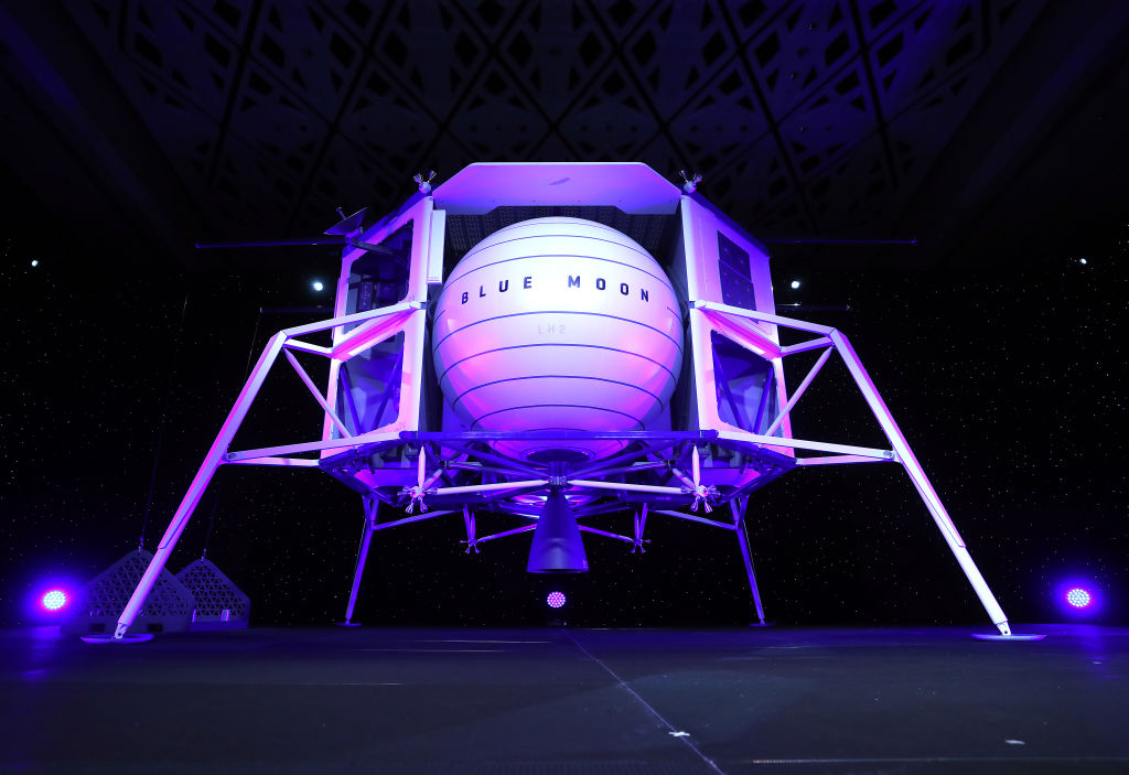 Blue Origin's New Shepard Rocket Plans to Sell Artificial Gravity to NASA