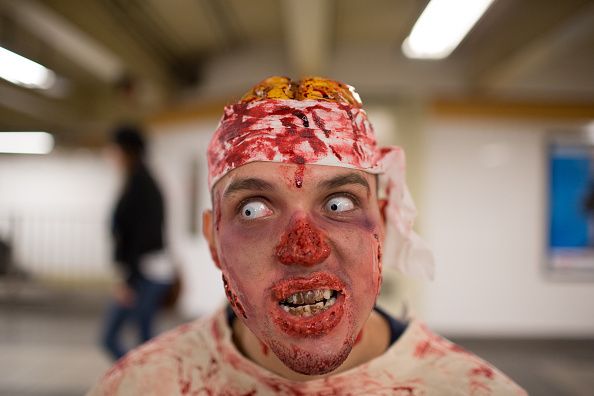 Which is More Scary? Zombie Makeup or CGI? What the Real Person in Viral K-Fee Commercial Looks Like
