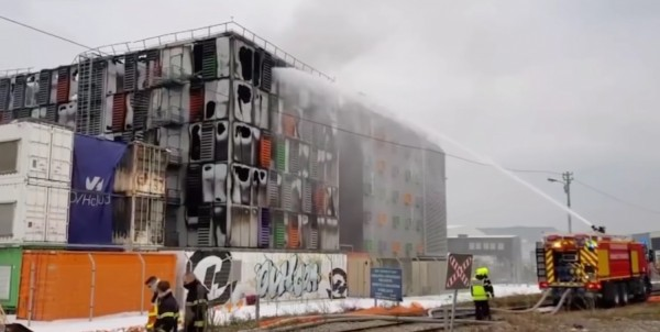 French Cloud Computing Firm Catches Fire; Websites, Companies' Services Disrupted