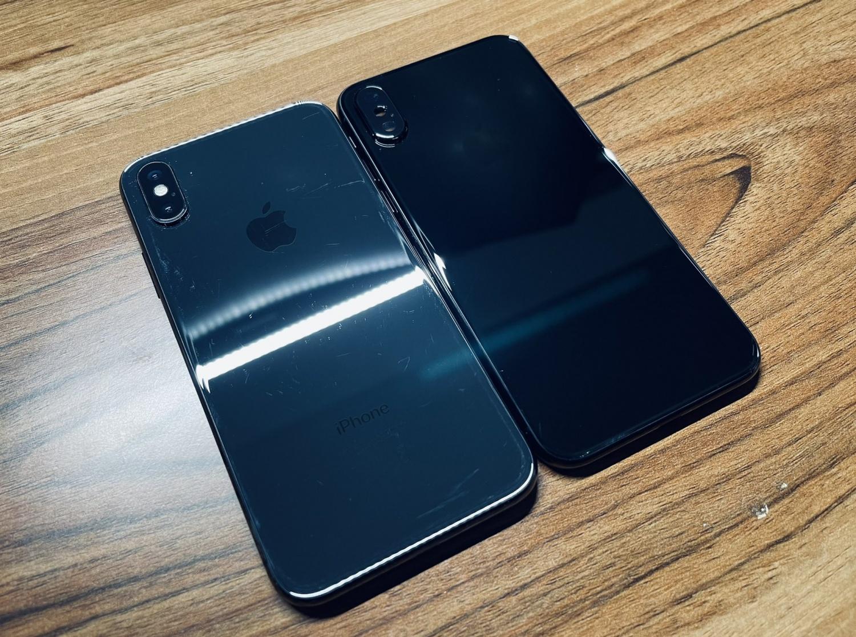 Jet Black Color iPhone X Prototype Unreleased Popular Color Choice