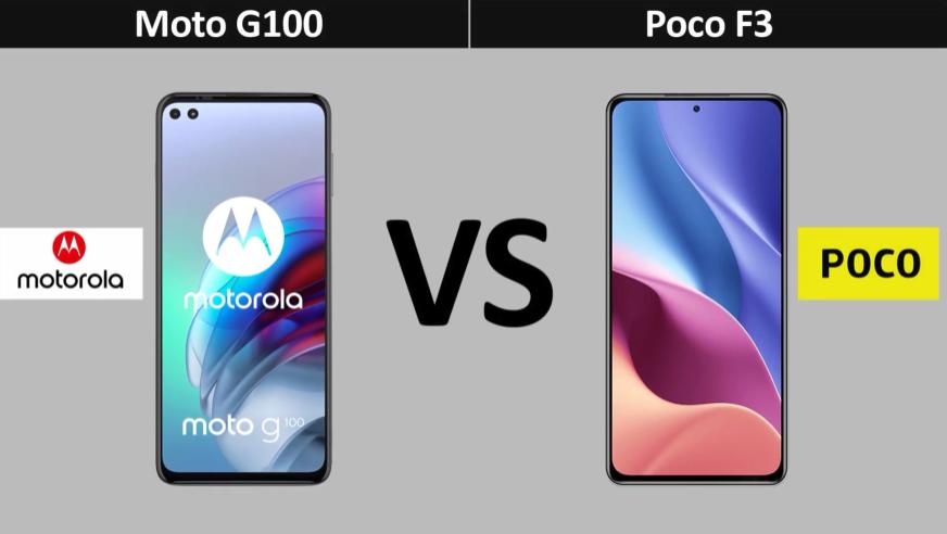 Motorola Moto G100 vs. POCO F3: Which Budget Smartphone is Better?