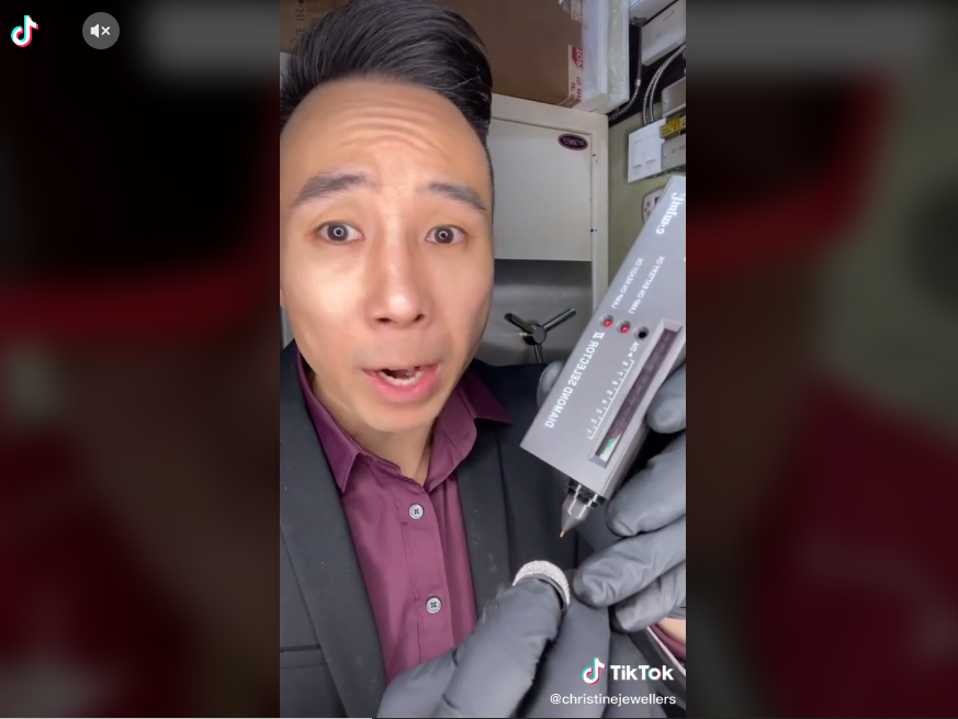 This TikTok Diamond Tester Trick Will Make Your Accessories SOUND Like Real Diamonds! Here's How
