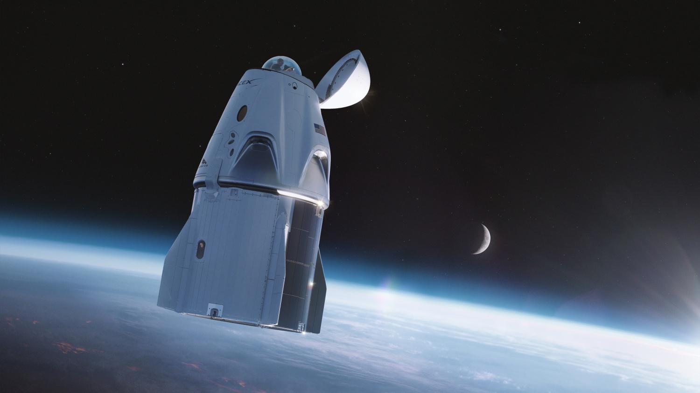 SpaceX Crew Dragon Glass Dome Concept