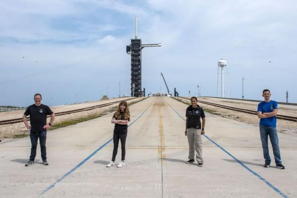 SpaceX Inspiration4 All-Civilian Crew