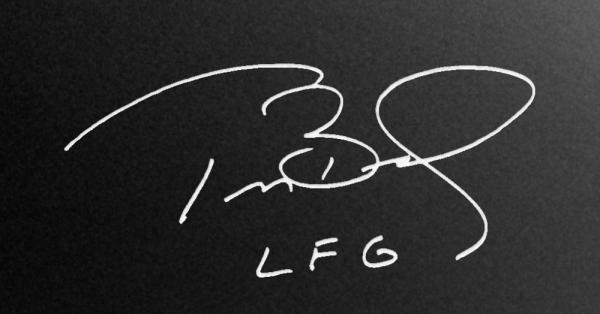 Tom Brady's Signature