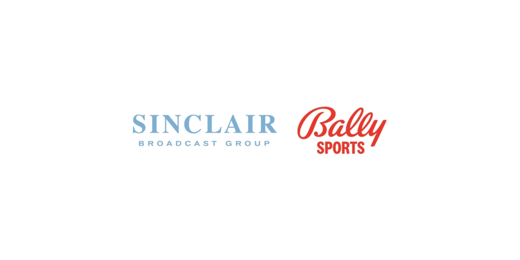 Sinclair Broadcast Group's Logo and Bally's Corporation Logo